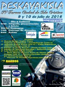 IV Torneo de Pesca en Kayak Ciudad De Isla Cristina (9-10 de Julio de 2016)