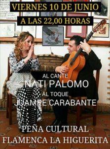 """La Cantaora """"Nati Palomo"""" en la Peña Cultural Flamenca la Higuerita"""