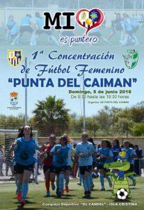 I Concentración de Fútbol Femenino «Punta del Caimán»