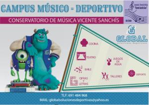 Campus Músico-Deportivo en Isla Cristina