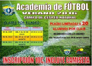 Abierto en Isla Cristina el plazo de inscripciones para la Academia de Fútbol