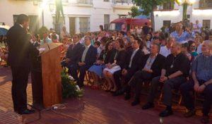 Emotivo Pregón de Francisco Pérez, a la Virgen de la Esperanza en La Redondela