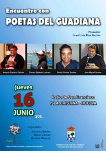 "Isla Cristina acoge ""Encuentro con Poetas del Guadiana"""
