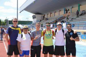 Toni Palma entre los mejores del Atletismo Adaptado