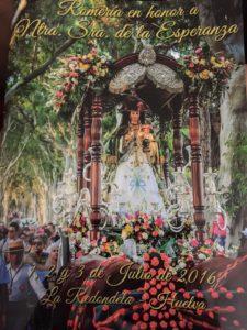 """Programación Romería Nuestra Señora de la Esperanza """"La Redondela"""""""