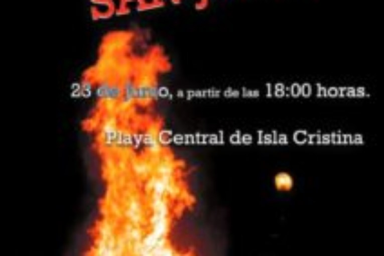Las hogueras de San Juan iluminan esta noche Isla Cristina
