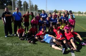 Amigos 80 «Campeón» de la I Concentración de Fútbol Femenino Celebrada en Isla Cristina