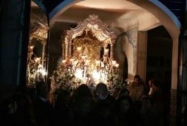 Comienza la Salve Cantada en la Hermandad del Rocío de Isla Cristina