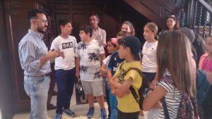 Alumnos del CEIP «Virgen del Carmen», de Punta del Moral, conocen Isla Cristina de la mano del Delegado de Patrimonio