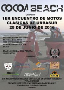1ER Encuentro de Motos Clásicas de Urbasur