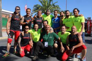 Metales para bomberos y policías onubenses en los Juegos Europeos
