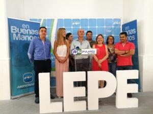 El PP vuelve a ganar por mayoría absoluta en Lepe en las elecciones generales del 26 de Junio