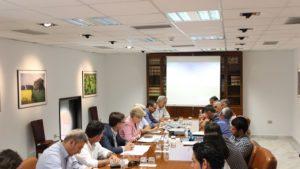 Representantes de la Cofradía de Pescadores de Isla Cristina se reúnen con la directora general de Pesca