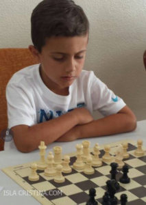 Kevin Irala Alonso, Subcampeón del IV Torneo de Ajedrez Sociedad Casino de Rociana