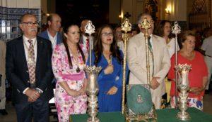 Esperanza Fernández y Ana Jiménez toman posesión como Hermanas Mayores de la Hermandad del Rocío de Isla Cristina