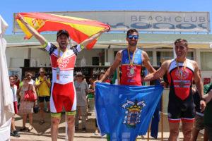 Tres medallas más para los Policías y Bomberos de Huelva en la crono de este viernes