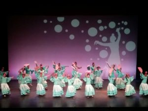 Clasurados en Isla Cristina los Talleres Municipales de Baile Flamenco