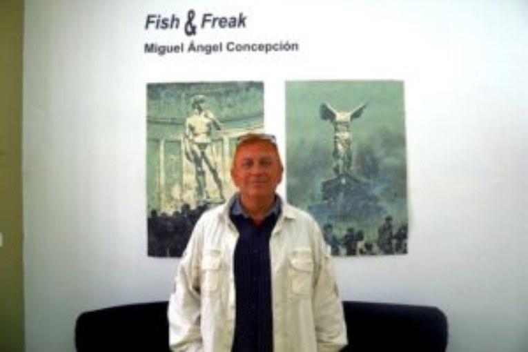 Hasta el próximo domingo estará abierta la Exposición de Miguel Ángel Concepción en Trigueros