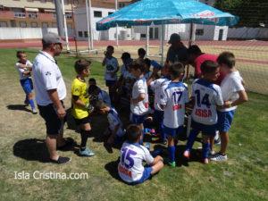 La Escuela de Fútbol de Bormujos defiende a la Cup-16 de Isla Cristina