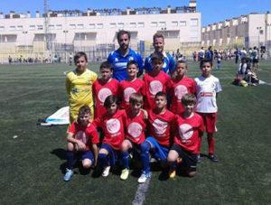 Técnico y Jugadores Isleños en el XIV Campeonato de Andalucía de Selecciones Provinciales