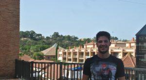 Entrevista de Francisco José Oliva al delantero isleño Cayetano Quintana