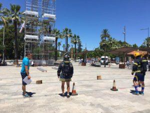 Las disciplinas de playa dan comienzo en la cuarta jornada de los Europeos de Policías y Bomberos