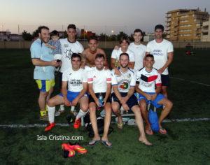 Los Chicos de Ángelo primer finalista del campeonato de verano Ciudad de Isla Cristina