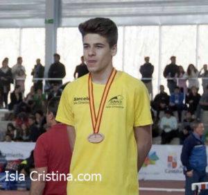 El atleta isleño Raúl Camacho acaba entre los mejores del Europeo Juvenil de Atletismo
