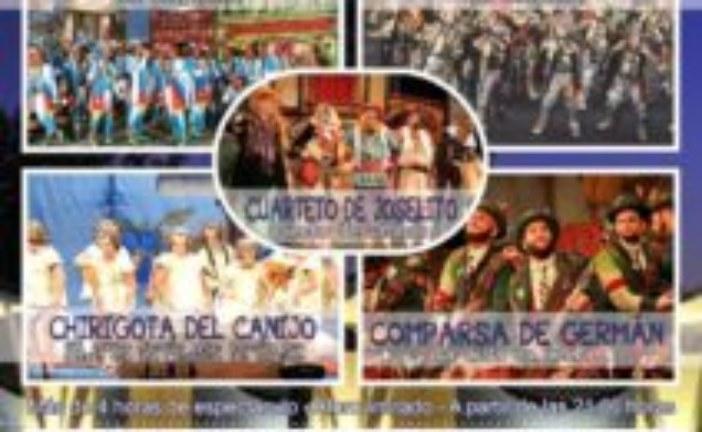 El Falla de Isla Cristina este lunes en el programa de Canal Costa 'Al Sol del Sur'