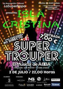 """El Espectáculo """"Super Trouper, el Musical de ABBA"""" en Isla Cristina"""