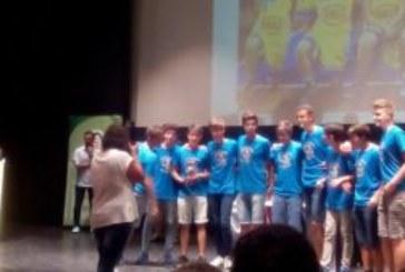 El C.B. Isla Cristina Premiado en la Gala Clausura de la Temporada 2015/2016 de FAB Huelva