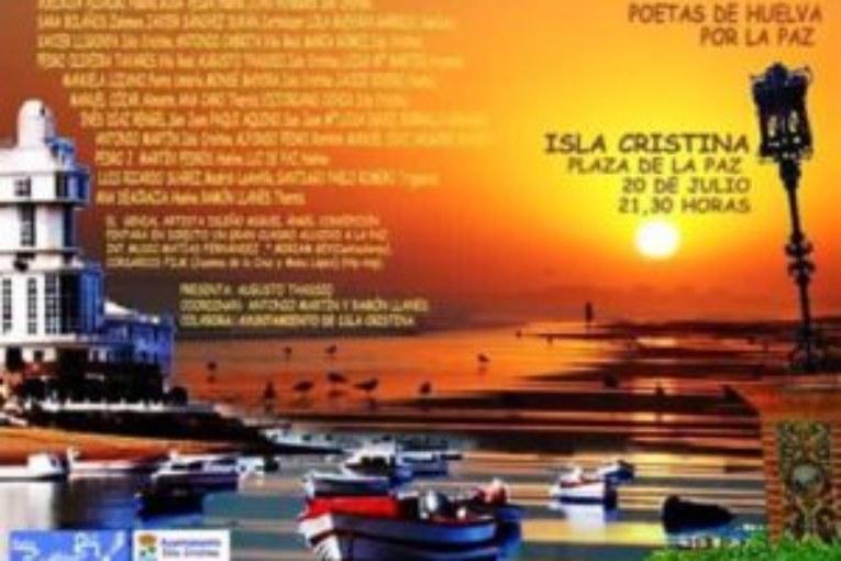 Poetas por la Paz en Isla Cristina