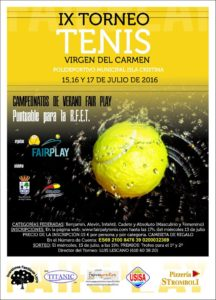 Programación del viernes Fiestas del Carmen de Isla Cristina