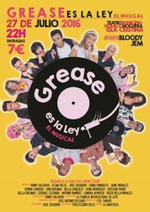 Isla Cristina acoge el musical 'Grease es la Ley'
