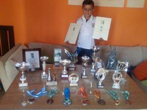 El isleño Kevin Irala Alonso, Subcampeón del XVII Open de Ajedrez Playas de Mazagón