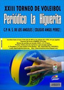 "XXIII Torneo de Voleibol ""Periódico La Higuerita"