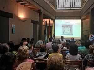 Antonio Martín en 'Los Martes Culturales', de Isla Cristina