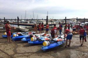 Mancomunidad de Islantilla organiza jornadas gratuitas de iniciación al Paddle Surf y al Kayak