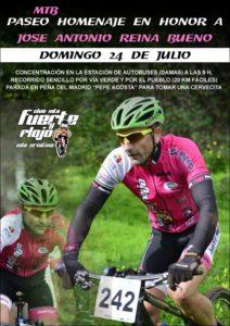 Paseo Homenaje este Domingo en Memoria de José Antonio Reina Bueno