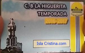 Apoya el baloncesto y hazte socio del C.B. La Higuerita