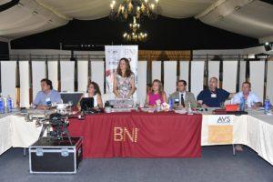 Alcaldes de Huelva y Palos respaldan con su presencia la actividad de BNI