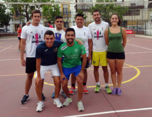 Iguana Tengo y Lepe, vencedores de la segunda jornada de voleibol en Isla Cristina