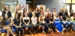 Alumnas del Taller de Maquillaje de Carnaval