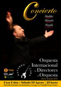 Huelva acogerá un concierto histórico en el que participarán directores de orquesta de 34 países