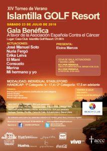 Islantilla Golf Resort celebra este sábado la XIV Gala Benéfica Contra el Cáncer