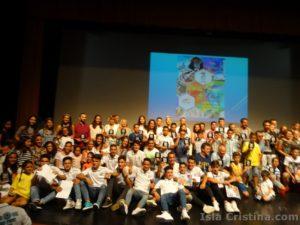 Imágenes y premiados de la Gala del Deporte 2016 celebrada en Isla Cristina