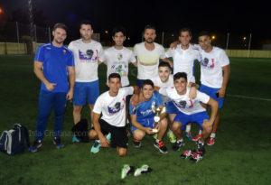 The Evangers Campeón del VIII Campeonato de Verano Fútbol 7 Ciudad de Isla Cristina