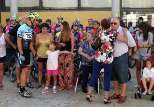 Gran acogida en Isla Cristina al Paseo homenaje a José Antonio Reina Bueno