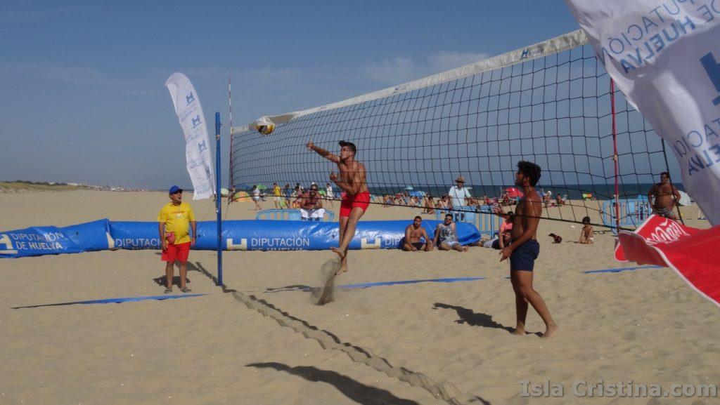 Imágenes semifinales y final del Circuito de Voley Playa celebrado en Isla Cristina
