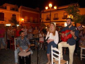 Emoción en la Salve de Aída Ramírez en Isla Cristina